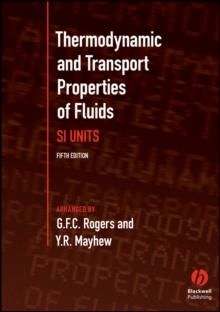 Thermodynamic and Transport Properties of Fluids  5E, Paperback Book