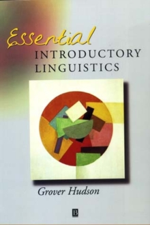 Essential Introductory Linguistics, Paperback Book