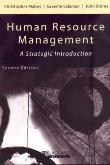 Human Resource Management : A Strategic Introduction, Paperback Book