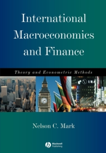 International Macroeconomics and Finance : Theory and Econometric Methods, Paperback Book