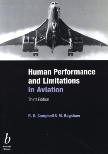 Human Performance and Limitations in Aviation, Paperback Book