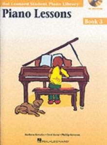 Hal Leonard Student Piano Library : Piano Lessons Book 3 (Book/Online Audio), Paperback Book