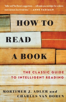 How to Read a Book, Paperback / softback Book