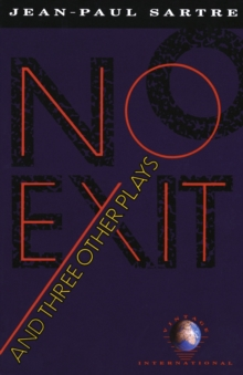 NO EXIT AND THREE OTHER PLAYS (VINTAGE I,  Book