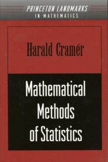 Mathematical Methods of Statistics (PMS-9), Volume 9, Paperback / softback Book