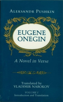 Eugene Onegin : A Novel in Verse: Text, Paperback Book