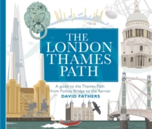 London Thames Path, Paperback Book
