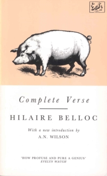 Complete Verse, Paperback Book
