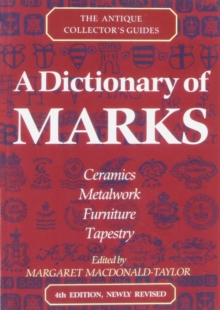A Dictionary Of Marks, Paperback Book