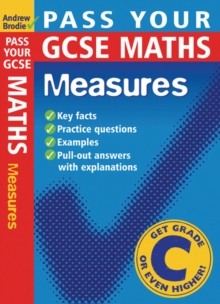 Pass Your GCSE Maths: Measures, Paperback Book