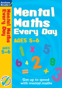Mental Maths Every Day 5-6, Paperback Book