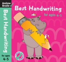 Best Handwriting for Ages 4-5, Paperback Book