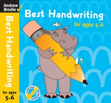 Best Handwriting for Ages 5-6, Paperback Book