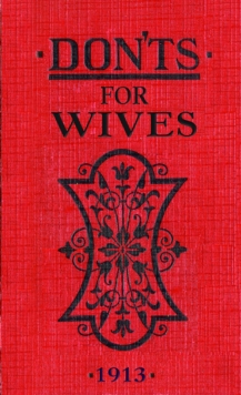 Don'ts for Wives, Hardback Book
