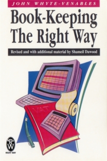 Book-keeping the Right Way, Paperback Book