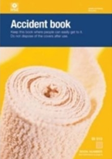 Accident Book : BI 510, Record book Book
