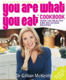 You are What You Eat Cookbook, Paperback Book