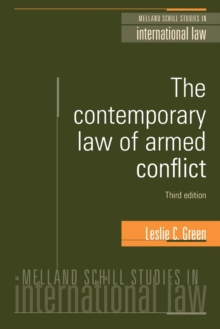 The Contemporary Law of Armed Conflict (3rd EDN), Paperback Book
