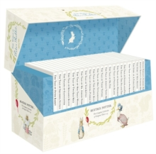 The World of Peter Rabbit - The Complete Collection of Original Tales 1-23 White Jackets, Mixed media product Book