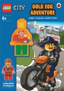 LEGO City: Gold Egg Adventure Activity Book with Minifigure, Paperback Book