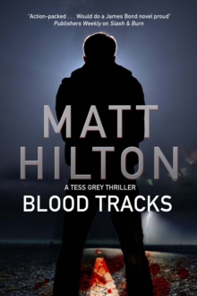 Blood Tracks : A New Action Adventure Series Set in Louisiana, Hardback Book