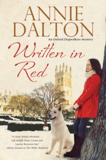 Written in Red : A Spy Thriller Set in Oxford with Echoes of the Cold War, Hardback Book