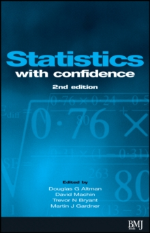 Statistics with Confidence, Paperback Book