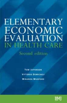Elementary Economic Evaluation in Health Care, Paperback Book