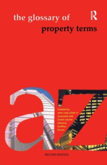 The Glossary of Property Terms, Paperback Book