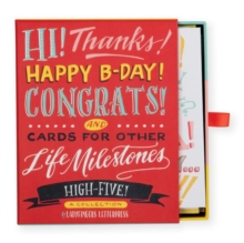 Ladyfingers Letterpress High Five Greeting Assortment, Other printed item Book