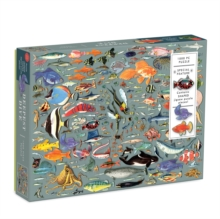 Deepest Dive 1000 Piece Puzzle with Shaped Pieces, Jigsaw Book
