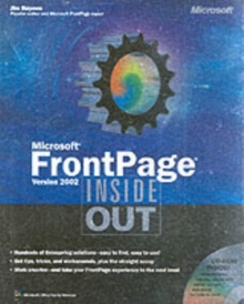 Microsoft FrontPage Version 2002 Inside Out, Mixed media product Book
