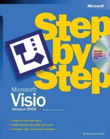 Microsoft Visio Version 2002 Step by Step, Mixed media product Book