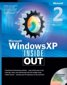 Microsoft Windows XP Inside Out, Mixed media product Book