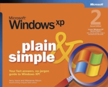 Microsoft Windows XP Plain and Simple, Paperback Book