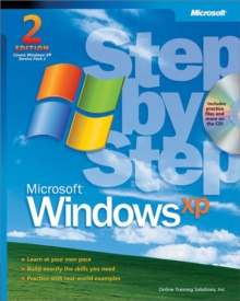 Microsoft Windows XP Step by Step, Mixed media product Book