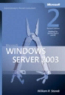 Microsoft Windows Server 2003 Administrator's Pocket Consultant, Paperback Book