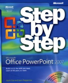 Microsoft Office PowerPoint 2007 Step by Step, Mixed media product Book