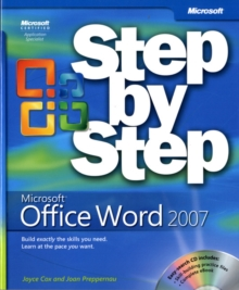 Microsoft Office Word 2007 Step by Step, Mixed media product Book
