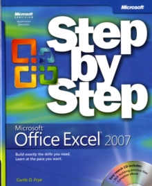 Microsoft Office Excel 2007 Step by Step, Mixed media product Book