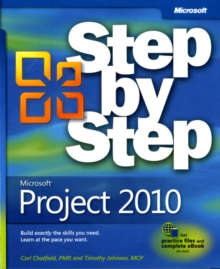 Microsoft Project 2010 Step by Step, Paperback Book