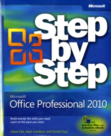 Microsoft Office Professional 2010 Step by Step, Paperback Book