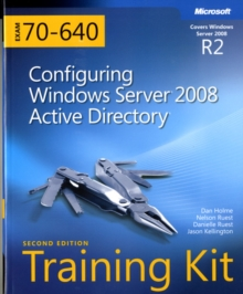 Configuring Windows Server (R) 2008 Active Directory (R) (2nd Edition) : MCTS Self-Paced Training Kit (Exam 70-640), Mixed media product Book