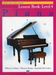 ALFREDS BASIC PIANO COURSE LESSON BOOK 4, Paperback Book