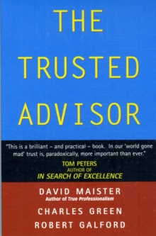 The Trusted Advisor, Paperback Book