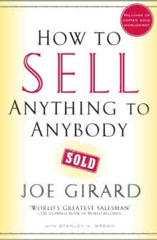 How to Sell Anything to Anybody, Paperback Book