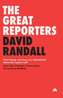 The Great Reporters, Paperback Book