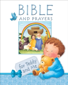 Bible and Prayers for Teddy and Me : Pink edition, Hardback Book
