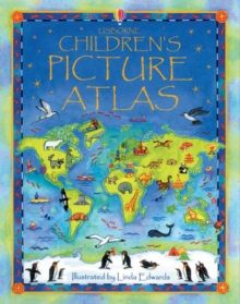The Usborne Children's Picture Atlas : Miniature Edition, Hardback Book