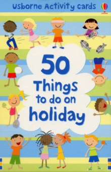50 Things to Do on Holiday, Cards Book